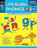 Little Buddies Phonics Fun Book 6 Consonant Pairs (Grades Prek-K), Rozanne Lanczak Williams, 161601525X