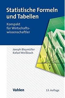Statistische Formeln, Tabellen und Programme: Amazon.de: Josef ...