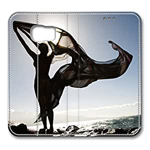 iCustomonline Filipino Young Nude Woman Fashionable PU Leather Case for Samsung Galaxy S6