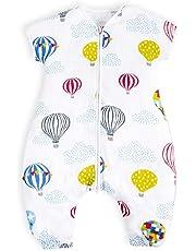 I-baby Unisex Baby Sleeping Bag 4 Season 100% Cotton Wearable Blanket, 1-3 Years