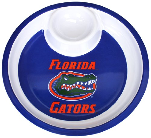 NCAA Florida Gators Melamine Chip and Dip, 13-Inch by Marketing Results, Ltd.