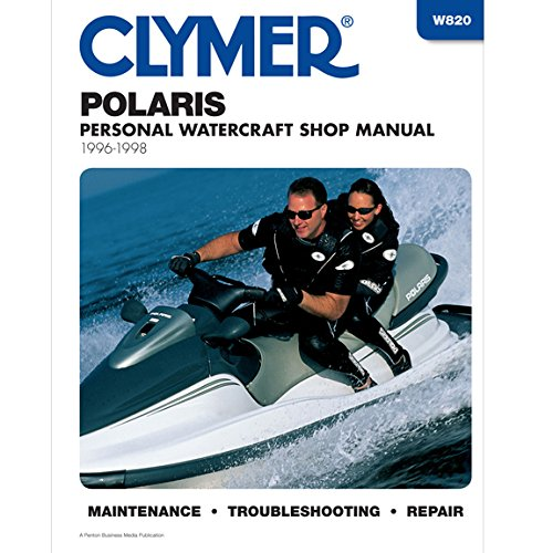 Clymer Repair Manual for Polaris Watercraft PWC 96-98