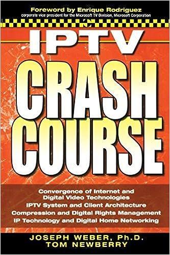 Book IPTV Crash Course by Joseph W. Weber (2006-12-13)