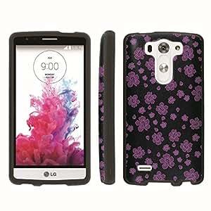 [ArmorXtreme] Designer Image Shell Cover Hard Case (Aloha Purple Black) for LG G3 Vigor