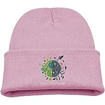Save The Planet Child Unisex Skull Caps Beanie Hat Headwear Winter Knitting Wool Warm Hats