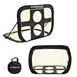 PodiuMax 2 in 1 Pop Up Soccer Goal, Portable Indoor/Outdoor Soccer Target Net, Pickup/Scrimmage Game Use For Sale