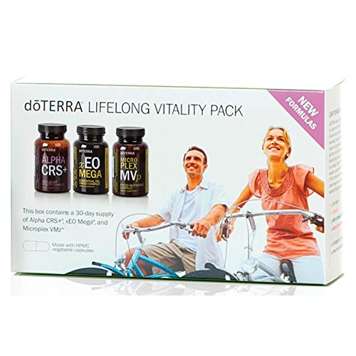 doTERRA Lifelong Vitality Pack- Alpha CRS+, xEO Mega and Microplex VMz