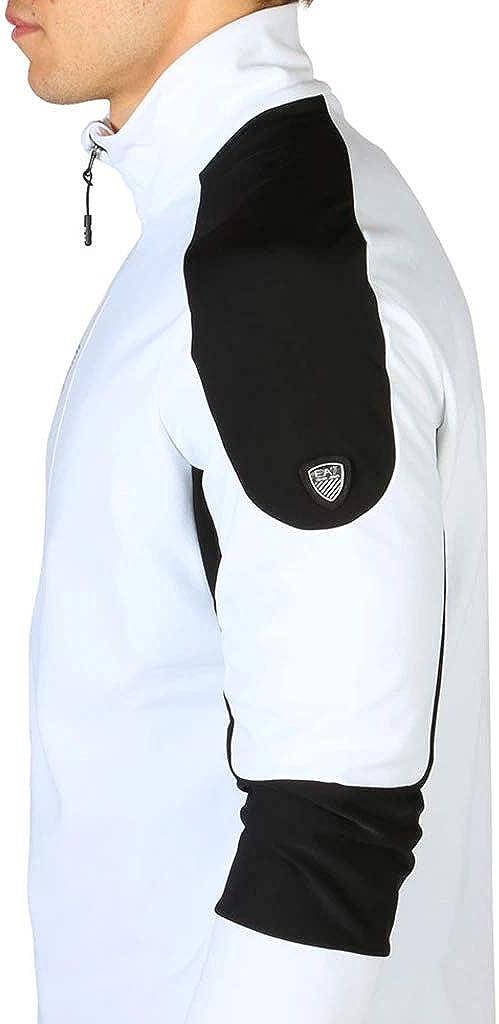 EA7 Sweatshirt 6YPMC3_PJ35Z Herren Weiß