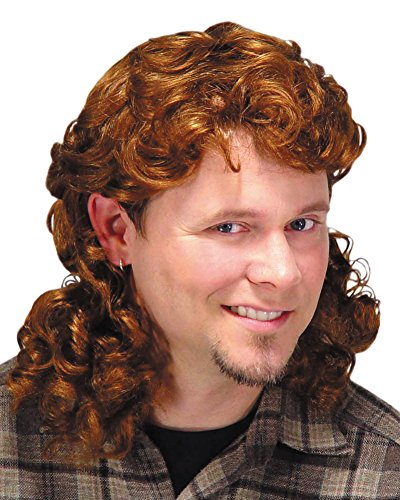 Auburn Brown Mullet Wig Costume Wig (Buy Mullet Wig)