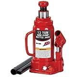 ATD Tools 7384 Hydraulic Bottle Jack - 12 Ton Capacity
