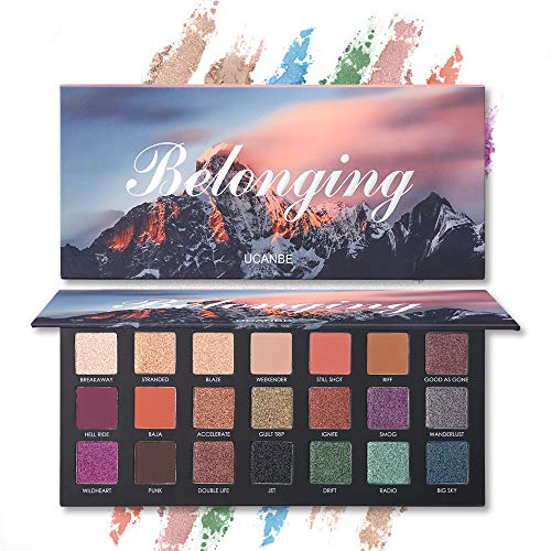 21 Colors High Pigmented Makeup Palette 15 Shimmer 6 Matte Long Lasting Velvety Eye Shadow Powder Maquillaje Set
