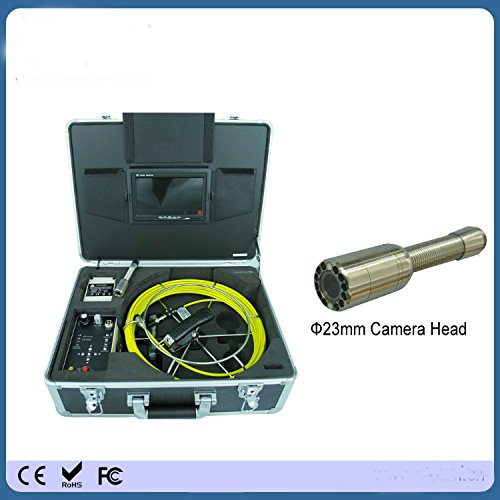 - Kohstar Portable hand type 420TVL cmos color underwater pipe inspection camera with 30m cable