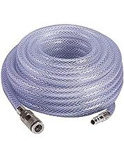 Einhell Hogedrukslang, 15 meter (maximale druk 10 bar, lijndiameter 10 mm, met snelkoppeling en schroefbevestiging)