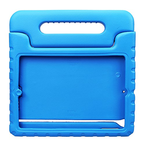 NewStyle PU007 Shockproof Handle Stand Case for Apple iPad 2/3/4 - Blue