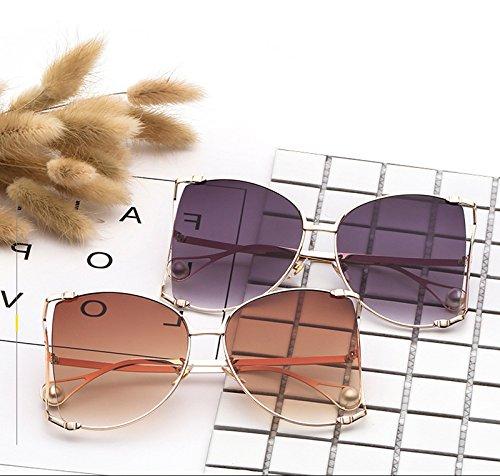 La Perla la Grande de Marco Aire Sol Sol del de de de Señora 8 Gafas de Sol Gafas al la Manera Ruikey de Libre Gafas 1IXBBq