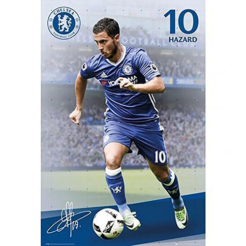 Poster - Chelsea F.C Hazard 80