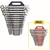 GearWrench 16-Pc. Metric Wrench Set w/Free 13-Pc. Wrench Set