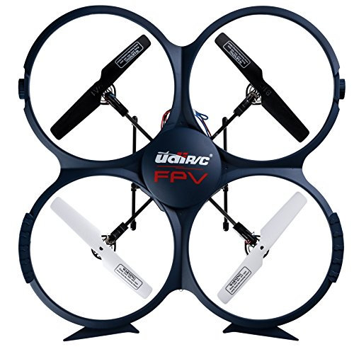 UDI-U818A-Wifi-RC-Quadcopter-Drone-for-Beginners-Best-RTF-UAV-Toy-with-24GHz-HD-Camera-FPV-Video-Headless-Mode-6-Axis-Gyro-VR-Headset-Compatibility-BONUS-2-Batteries-Included-Blue