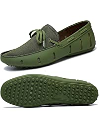 Mens Driving Loafer Fashion Slipper Casual Slip On Loafers Boat Shoes for Beach, Pool,