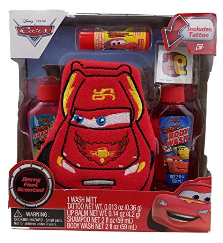 Disney Cars 5pc Bath Time Set