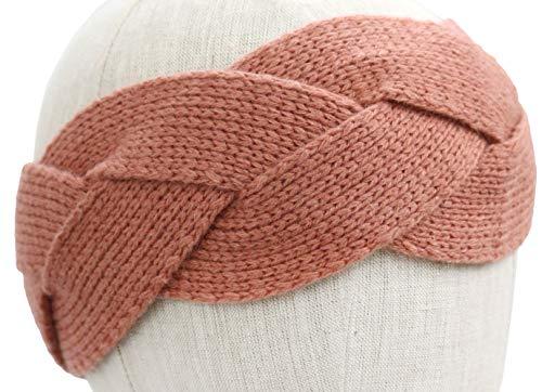 UGG Women's Braided Knit Headband Lantana Pink One Size]()