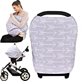 Baby : Baby Car Seat Cover canopy nursing and breastfeeding cover( classical arrows)