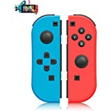 SINGLAND Wireless Controller for Compatible with,Proslife L/R Joycon with Wrist Strap,Wireless Switch Remotes Alternatives fo