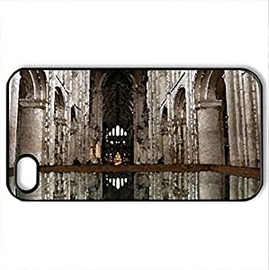 Pool of water - Case Cover for iPhone 4 and 4s (Religious Series, Watercolor style, Black)