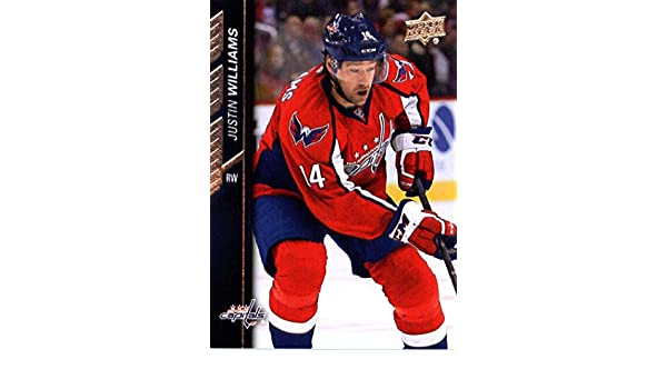 Amazon.com  2015-16 Upper Deck Series 2  440 Justin Williams Washington  Capitals Hockey Card-MINT  Collectibles   Fine Art a1481b27254f