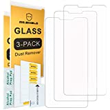 [3-Pack]-Mr Shield for LG G7 ThinQ [Tempered Glass] Screen Protector [Japan Glass with 9H Hardness] with Lifetime Replacement Warranty