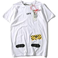 Off-White Classical T-shirt Fashion Tee Unisex Short Sleeve For Men and Women