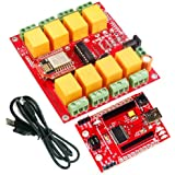 WiFi - 8 Channel Relay Board ESP8266 8 SPDT Relay channels LED indication