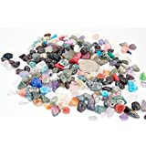 ASSORTED MIXED 4-10mm Gemstone Nugget Chip Loose Beads Birthstone Jewelry Making (Pack of 40 Gram)