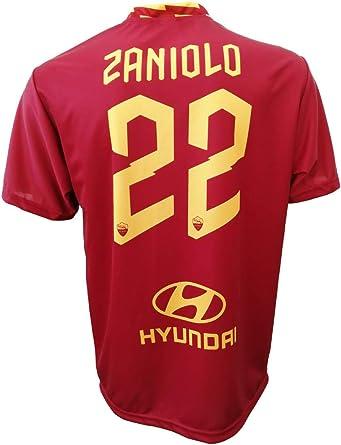 L.C. Sport Camiseta Roma Nicolò Zaniolo 22 Réplica autorizada para niño (tallas-años 2, 4, 6, 8, 10, 12) Adulto (S, M, L, XL) ligeras notas: Amazon.es: Ropa y accesorios