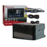 """2017 Pioneer Car Audio Double Din 2DIN 7"""" Touchscreen DVD MP3 CD Stereo Built-in Bluetooth & AppRadio Mode + DCO Waterproof Backup Camera with Nightvision"""