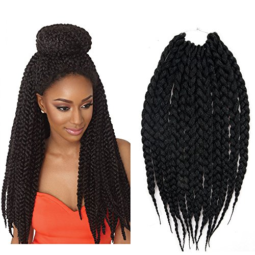 Havana Mambo Twist Synthetic Hair 18 3x Big Box Crochet Braids