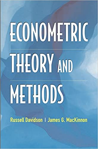 Econometric theory and methods amazon russell davidson james g econometric theory and methods amazon russell davidson james g mackinnon fremdsprachige bcher fandeluxe Images