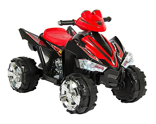 Kids Ride On ATV Quad 4 Wheeler 12V Battery Power Electric Led Lights and Music from Unbranded