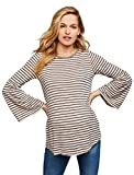 A Pea in the Pod Sleeve Detail Maternity Top