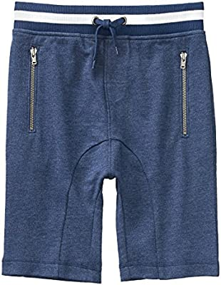 Crazy 8 Boys Little Drawstring Knit Harem Short