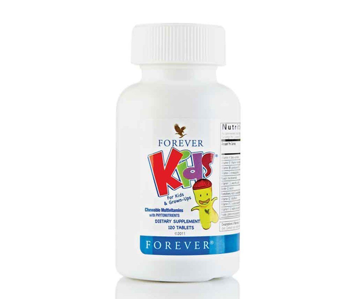 Forever Kids Multivitamins, 120 tablets