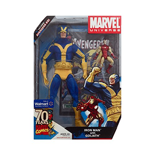 Iron Man With Goliath Exclusive Marvel Universe Action Figure Set