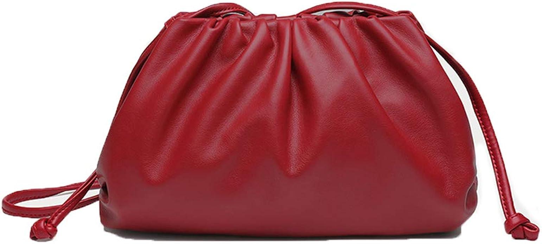 1940s Handbags and Purses History Crossbody Bag for Women Trendy Dumpling Shoulder Purse Cloud Handbag Lightweight Vegan Leather Wallet with Detachable Strap $27.59 AT vintagedancer.com