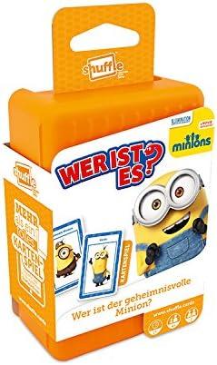 Juego de cartas de los Minions Cartamundi 22502173, ¿Quién es quién? Juegos y puzzles, blanco , color/modelo surtido: Amazon.es: Juguetes y juegos