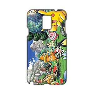 3D Case Cover Cartoon Anime Pokemon Pikachu Phone Case for Samsung Galaxy Note4
