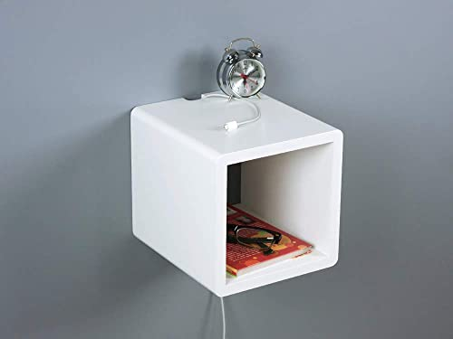 Mini Cubby Floating Nightstand