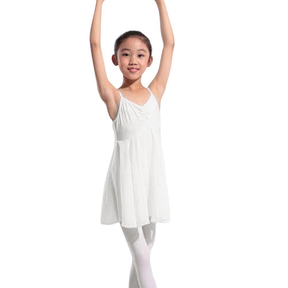 Moresave Ginnastica Body Danza Abito Gonna Tutu di Balletto Bambina Maniche