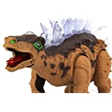 Stegosaurus Walking Roaring Dinosaur With Colorful Lights