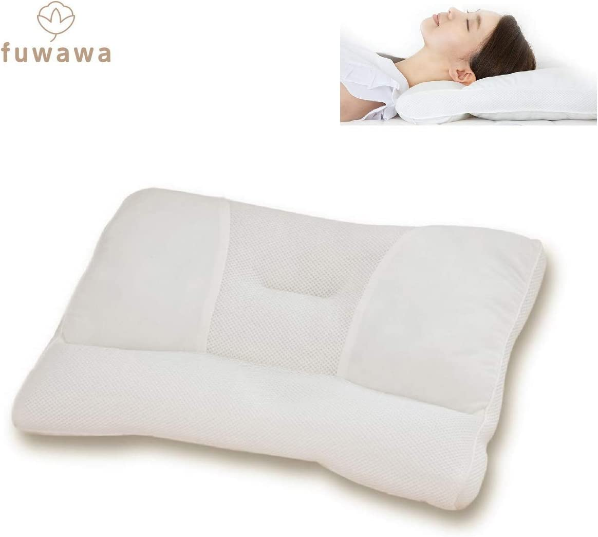 fuwawa (ふわわ) ストレートネック枕 パイプ枕 高さ調整枕
