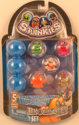 Squinkies Monsters Pack Character Set product image